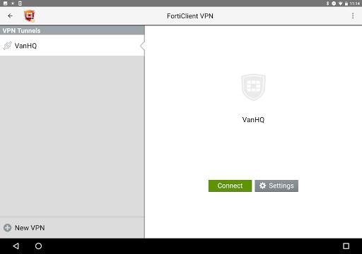 FortiClient VPN 6.2.3.0332 screenshots 5