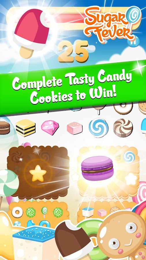Sugar Fever - Candy Match- screenshot