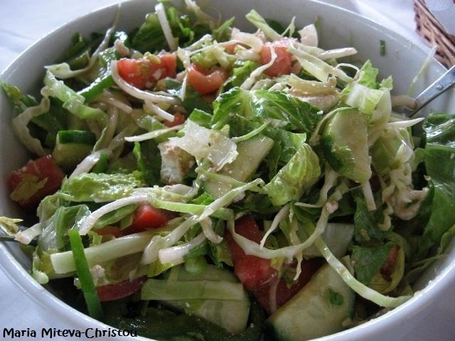 Кипърска Селска салата (Χωριάτικη σαλάτα) Р