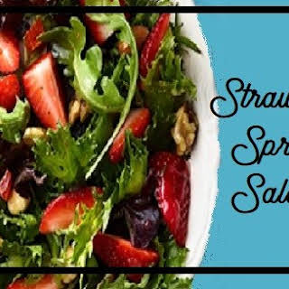 Strawberry Spring Salad.