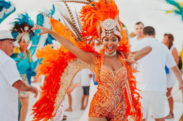 Last year's vow renewal ceremony in Aruba