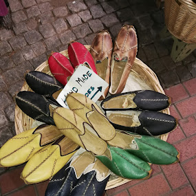 Handmade shoes in Turkey by Monique Marx - Instagram & Mobile Android ( colour, shoes, market, colorful, handmade, turkey, leather )