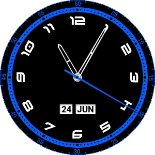 Nice Time Watch Face