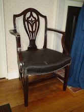 Photo: An original chair from Steventon rectory