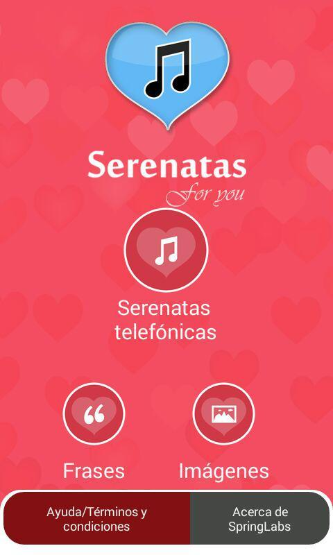 Serenatas for you- screenshot