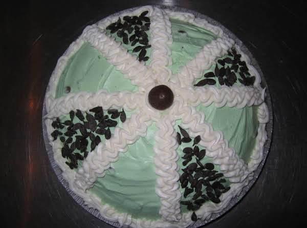 Chocolate Mint Pie By Freda