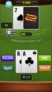 Blackjack free card game- screenshot thumbnail