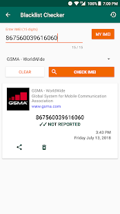 IMEI Tools 🔨(Free) Screenshot