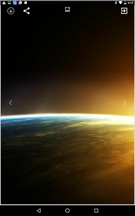 HD Sunrise Wallpaper Screenshot