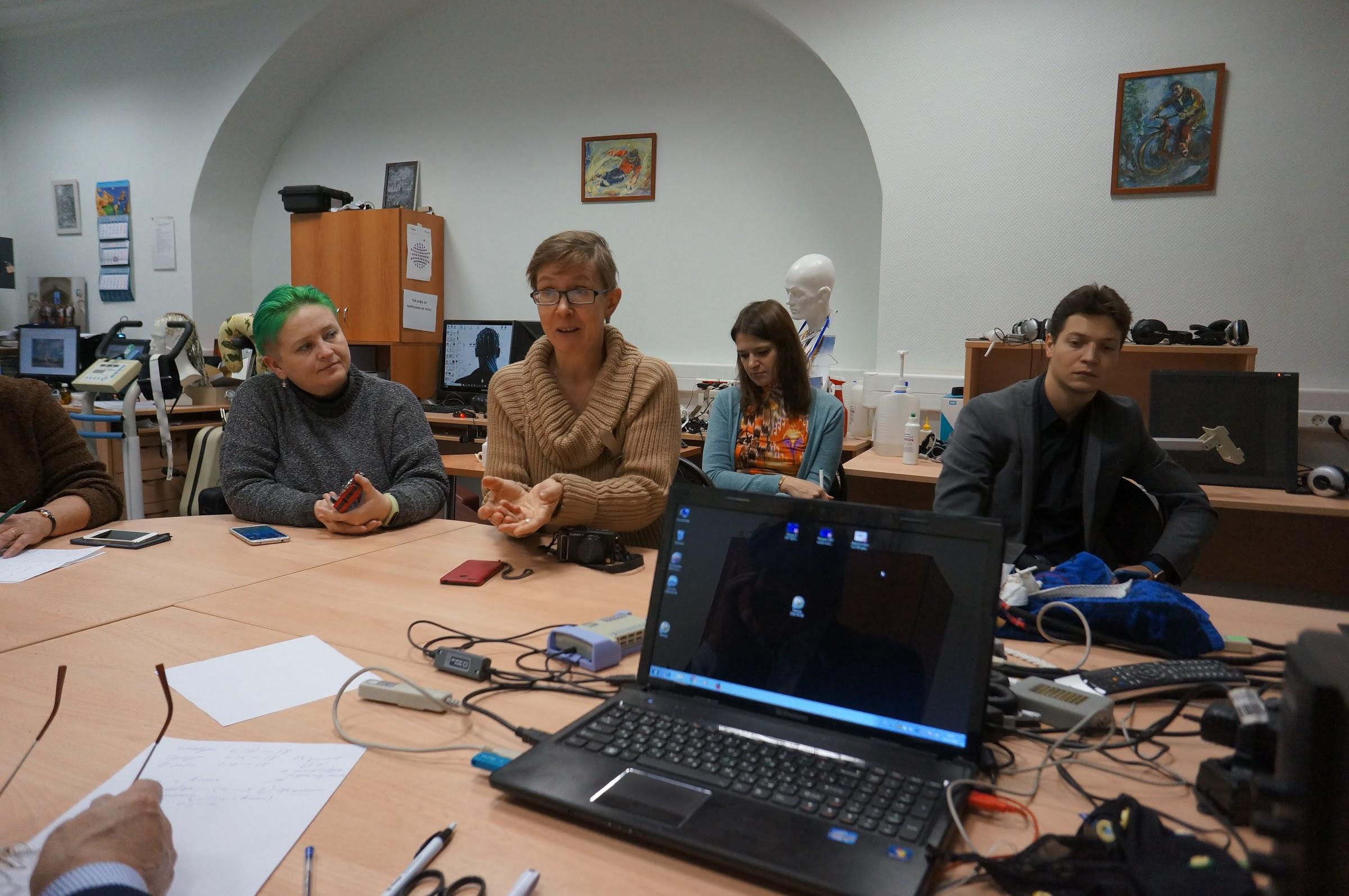 Блог-тур на кафедре психофизиологии МГУ, БОС-терапия