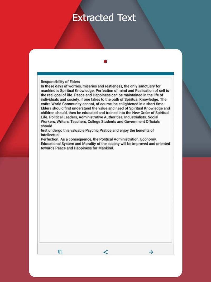 OCR Text Scanner  pro : Convert an image to text Screenshot 6