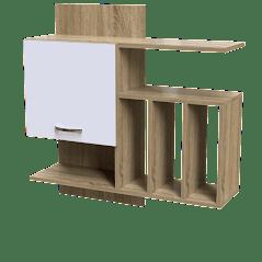 Полка ПУ-5 Тиса мебель Цвет Дуб Сонома