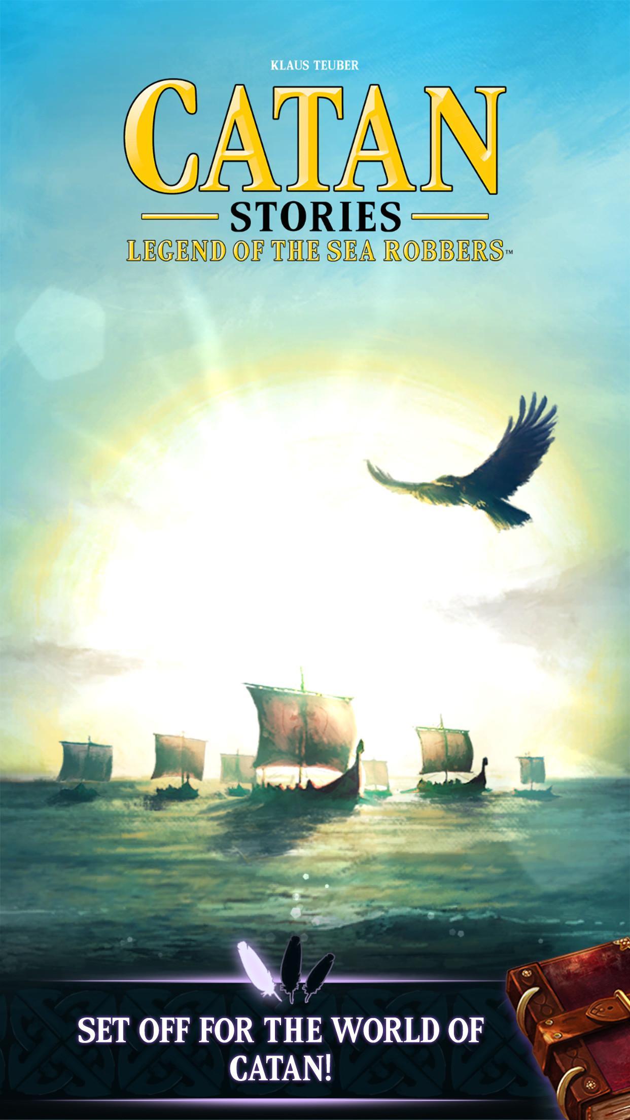 Catan Stories: Legend of the Sea Robbers screenshot #1