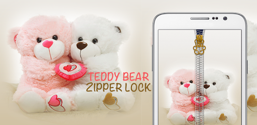 Teddy Bear Zipper Lock By Soft Shaders Personalization Category