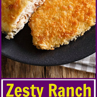 Zesty Ranch Air Fryer Fish Fillets.