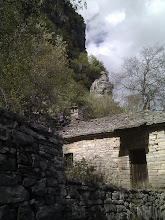 Photo: Monastery on the rocks of Vikos gorge