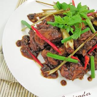 Baba Coriander Chicken