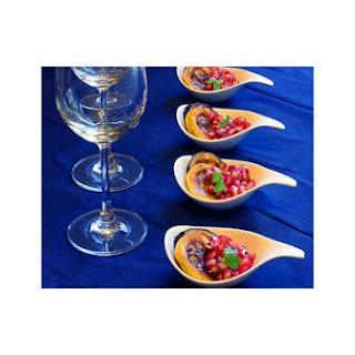 Happy Thanksgiving Week! - Grill Zuchinni, Yellow Squash & Pomegranates Salad