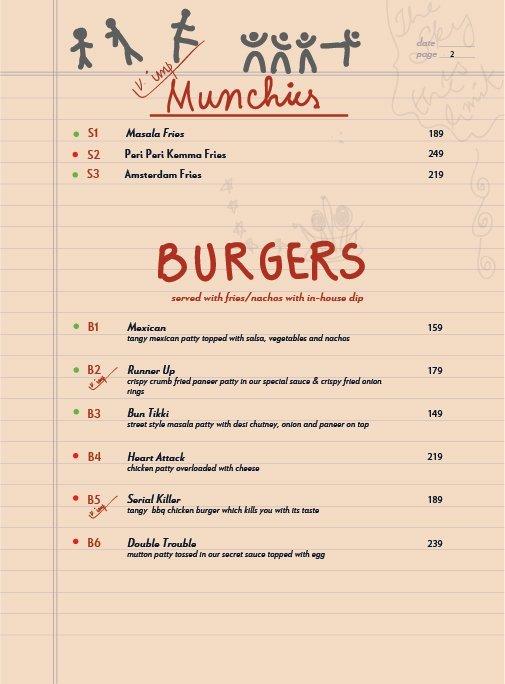 Echoes menu 3