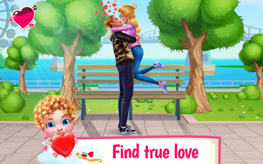 Screenshot for First Love Kiss - Cupid's Romance Mission in United States Play Store
