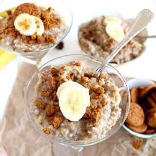 Vegan Banana Rice Pudding Parfaits