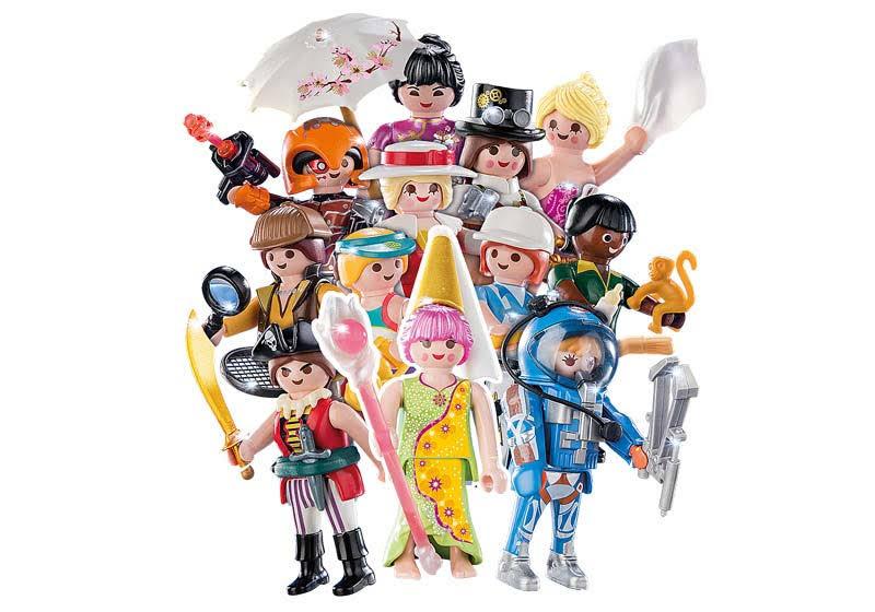Contenido de Playmobil® 70160 Colección Completa Sobre Sorpresa  Serie 16 Niñas