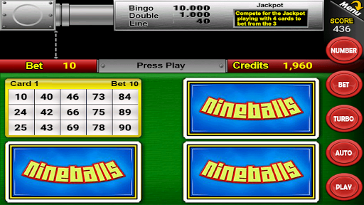 Nine Balls Video Bingo 2.05 screenshots 1