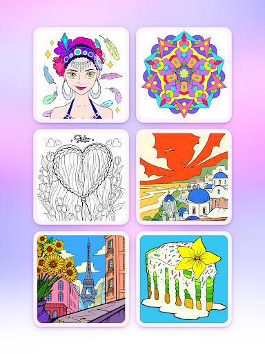 Coloring Fun : Color by Number Games - screenshot