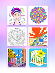 Coloring Fun : Color by Number Games APK screenshot thumbnail 7