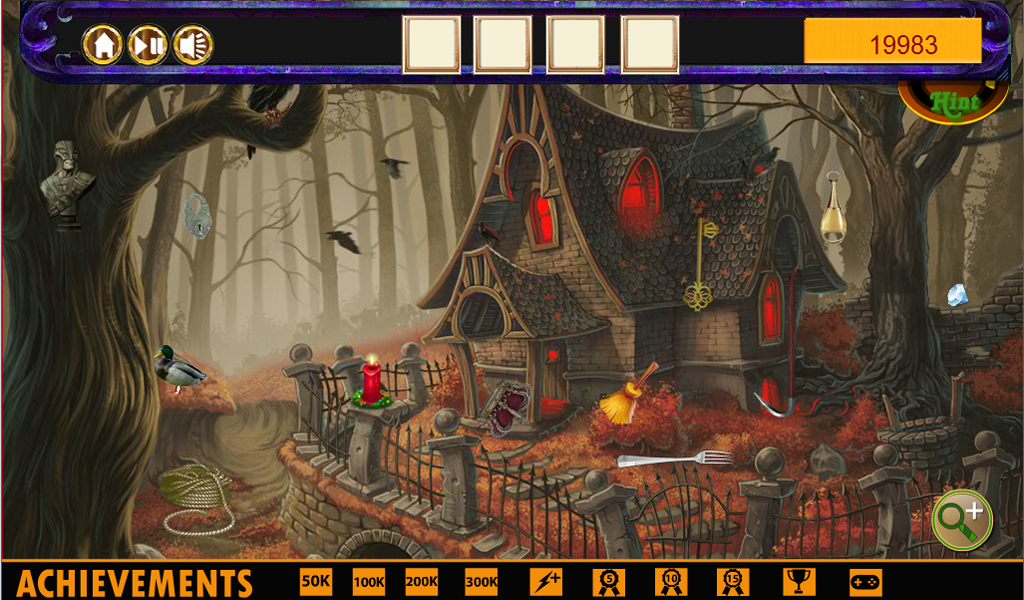Wizard War Hidden Object- screenshot