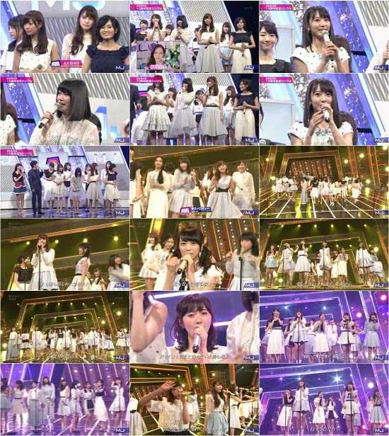 160222 AKB48 Part – Music Japan