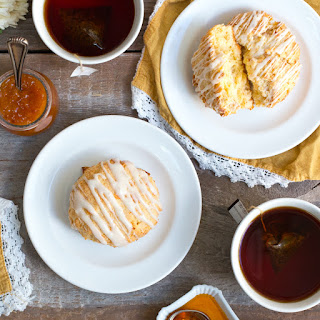Coconut Cream Scones
