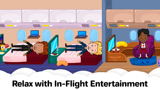 My Airport Town: Kids City Airplane Games for Free screenshots 6