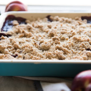Blackberry Nectarine Crumble