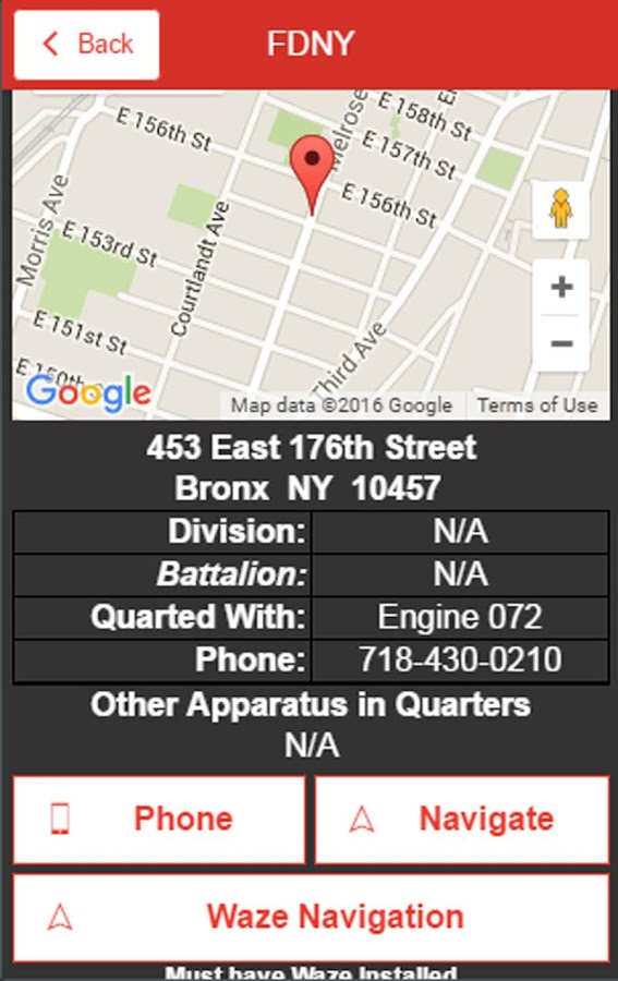 FDNY Firehouses & EMS Stations - Android Apps on Google Play