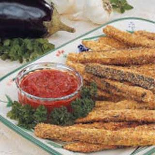 Eggplant Snack Sticks.