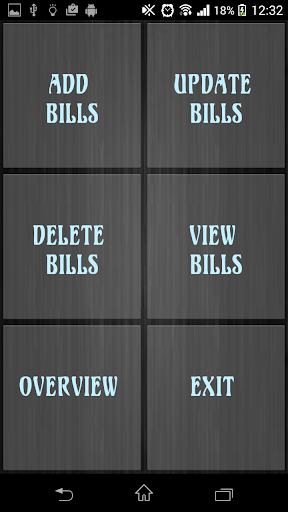 Bill Manager