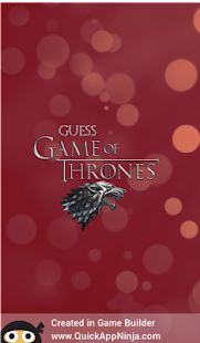Guess the Game of Thrones - náhled
