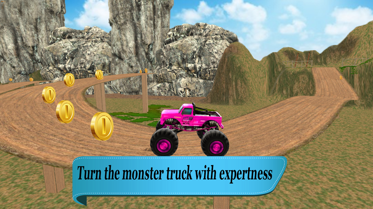 4x4 Hill Climb Monster trucker- screenshot