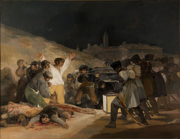 """The Third of May 1808"" by Francisco Goya"
