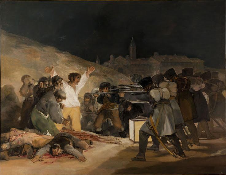 """The Third of May 1808"" by Francisco Goya"