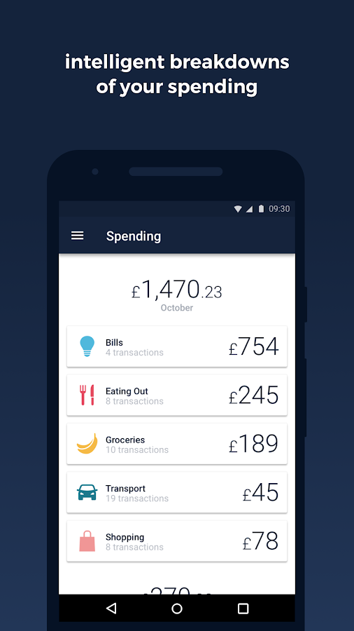 Monzo Bank- screenshot