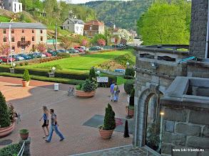 Photo: 2006-05-06. La Roche-en-Ardenne. Uitzicht hotelkamer | View from hotel room.  www.loki-travels.eu