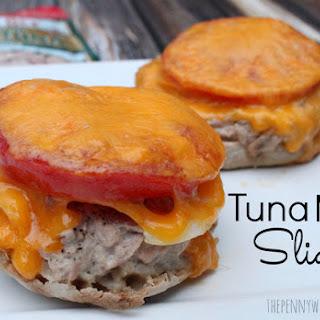 Easy Tuna Melt Sliders