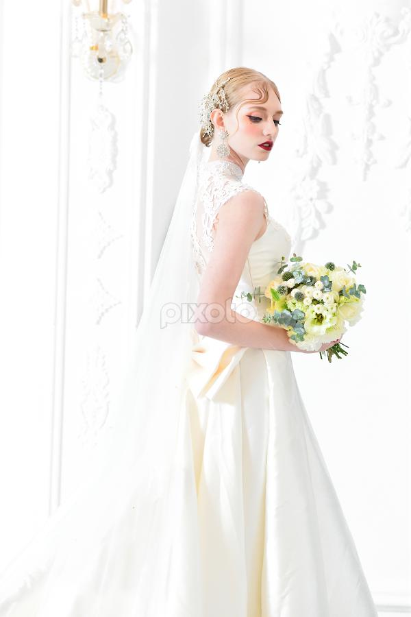 Bride(11) by 敬昕 涂 - Wedding Bride ( bride, dress, bridal, bouquet, larissa, wedding )