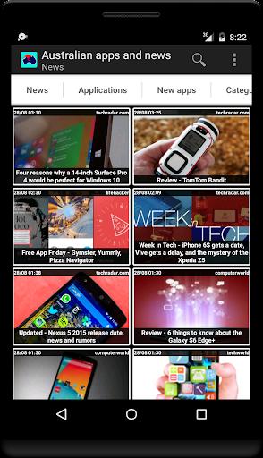 Australian apps and tech news