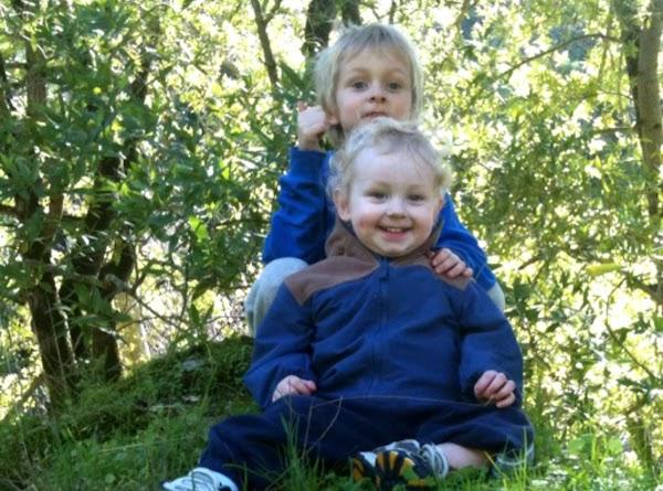 Sheridan and Trevor--sweet little boys