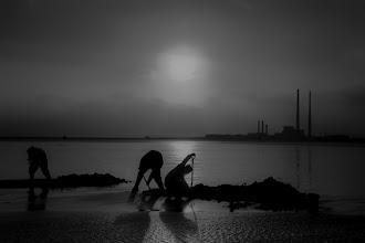 Photo: Bull Walk  #blackandwhitephotography  #peopleandlife  #peoplephotography  #People