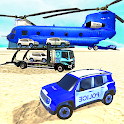 Police Car Transport Truck:New Car Games 2020 icon