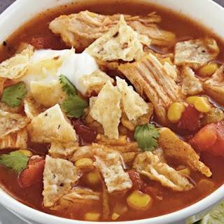 Chicken Tortilla Soup With Enchilada Sauce Recipes.